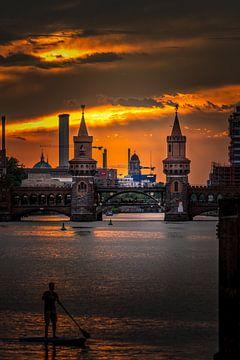 Oberbaumbrücke Berlin 2020 von Iman Azizi