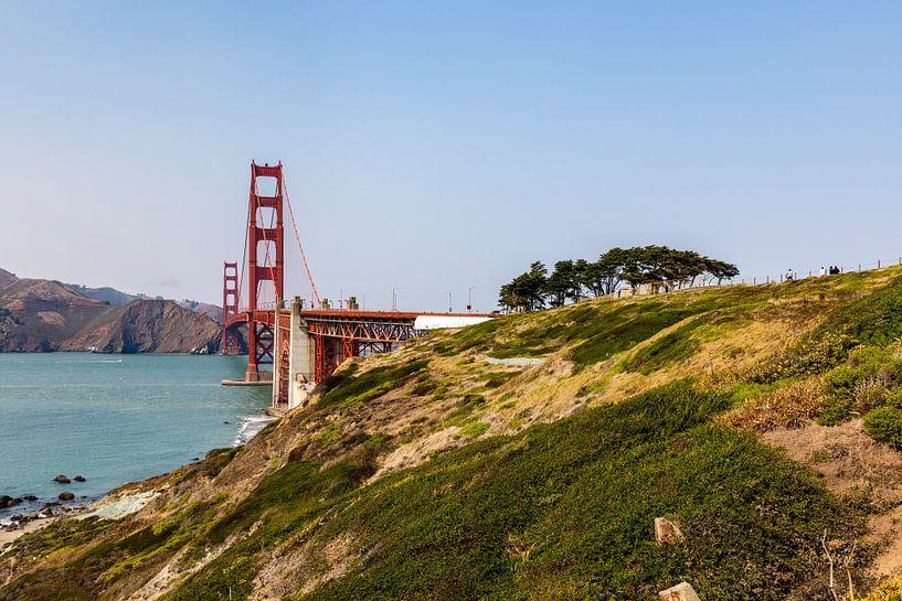 Golden Gate Bridge - San Francisco van Remco Bosshard