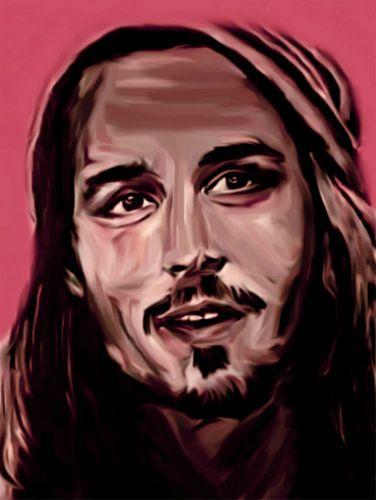 Johnny Depp Pop Art PUR Serie NO.1