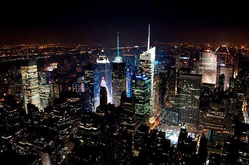 Manhattan by Night, New York