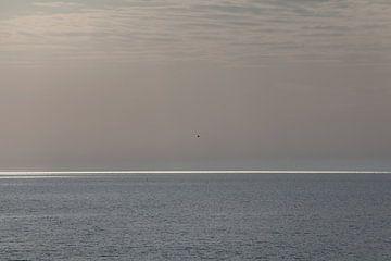Minimalistisch zeegezicht. van Rens Kromhout