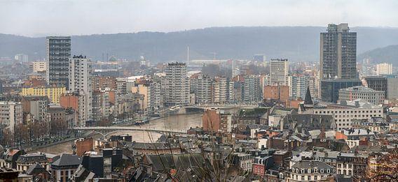 Luik skyline met de Maas