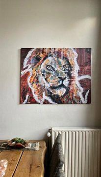 Kundenfoto: Liebe den Löwen von ART Eva Maria