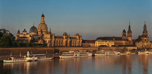 Dresden in the morning