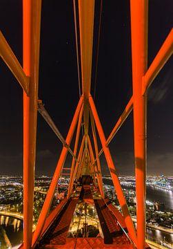 A'DAM toren - Panoramaview over Amsterdam. (12) van Renzo Gerritsen