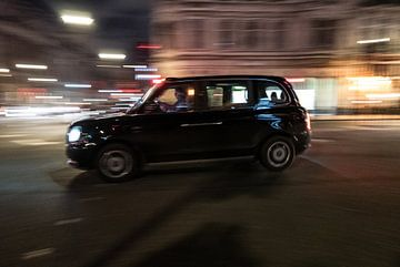 Londen - Taxi van Maurice Weststrate
