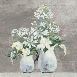 Fin de l'été Bouquet III Grège, Julia Purinton