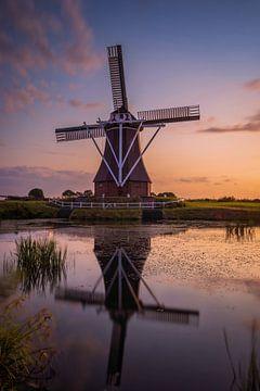 Windmühle de Dellen Nieuw-Scheemda von Marga Vroom