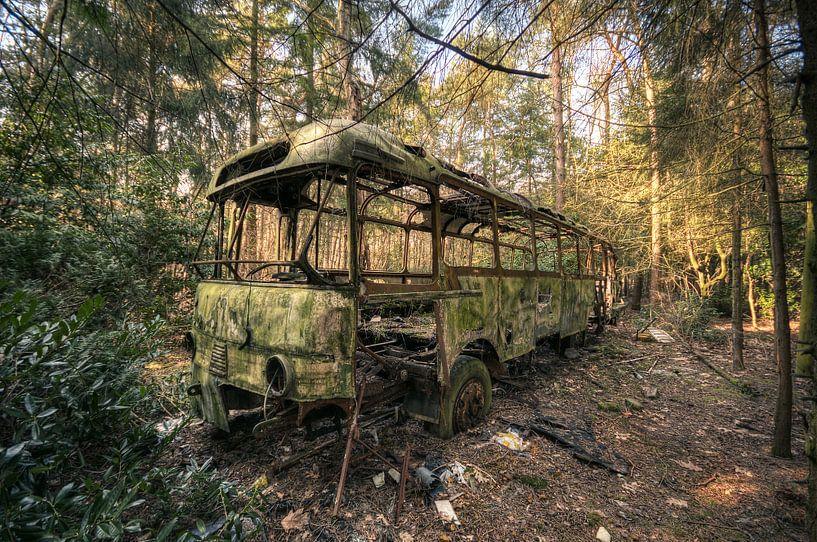 Urbex - Jungle bus von Angelique Brunas