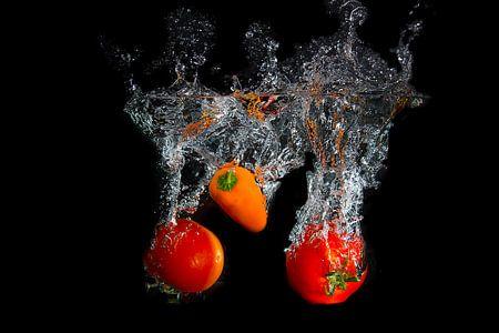 Splashing fruit! van Truus Nijland