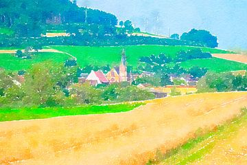 malerisches Dorf im Schwarzwald in Deutschland von Ariadna de Raadt