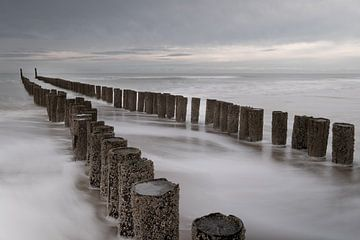 Zeeland kust Domburg van martin slagveld