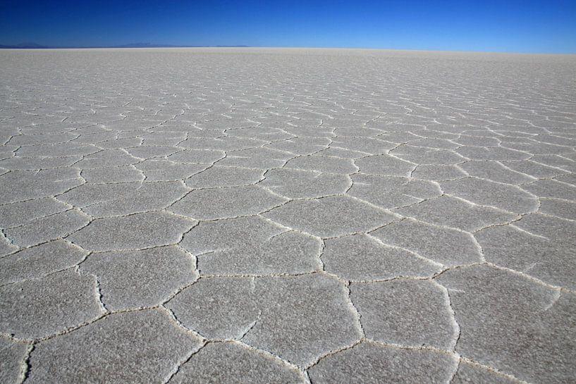 zoutvlakte van Uyuni van Antwan Janssen