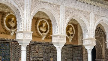 Casa de Pilatos in Sevilla, Spanje van Jessica Lokker
