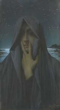 Die Stille, Lucien Lévy-Dhurmer
