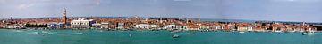 Panorama der italienischen Stadt Venedig