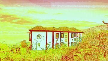 Haus auf dem Land von Ingrid Woudsma