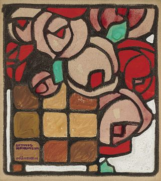 Rosen, Ludwig Hohlwein, von Atelier Liesjes