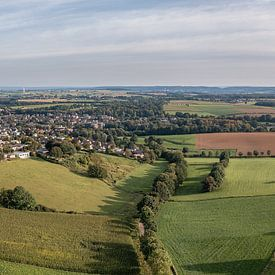 Vue aérienne du Klingeleberg à Simpelveld sur John Kreukniet