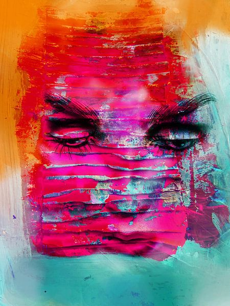 The pink face van Gabi Hampe