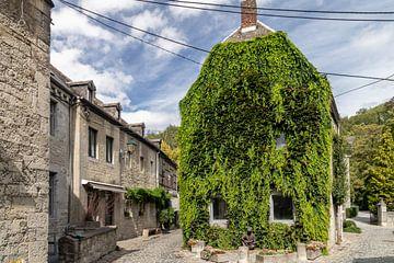 DURBUY  Oud huis met klimop van Paul Veen