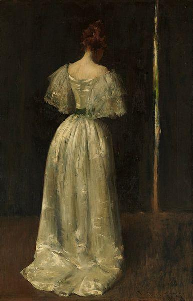 Dame des siebzehnten Jahrhunderts, William Merritt Chase - ca. 1895 von Het Archief