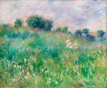 Renoir, Wiese (la prairie) (1880) von Atelier Liesjes