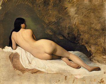 Liegender Akt, eine Studie, Isidore Pils (1841) von Atelier Liesjes