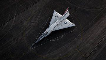 F102 Delta Dagger, vliegtuig bij Soesterberg van Sebastiaan van der Ham