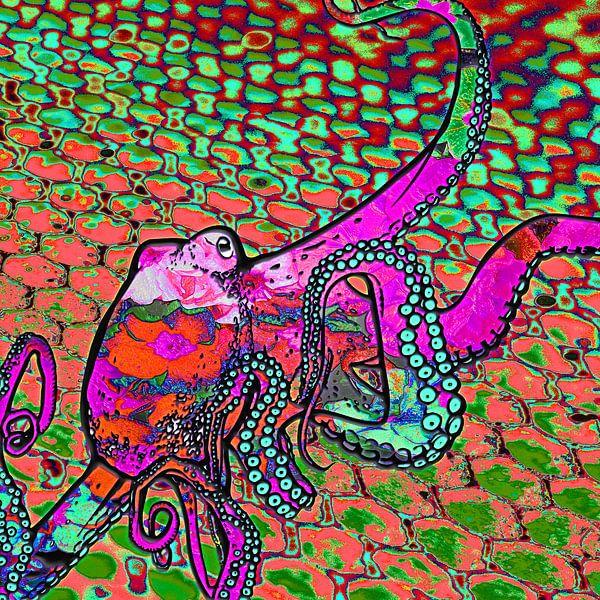 Digitales Arbeiten mit einem Tintenfisch von Ton Kuijpers