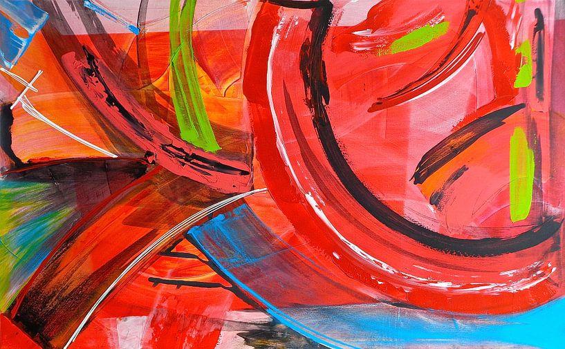 Ibiza abstrakt sur Rob van Heertum