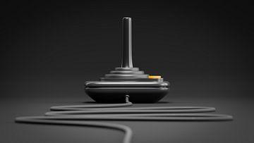 zwarte retro joystick van Markus Gann