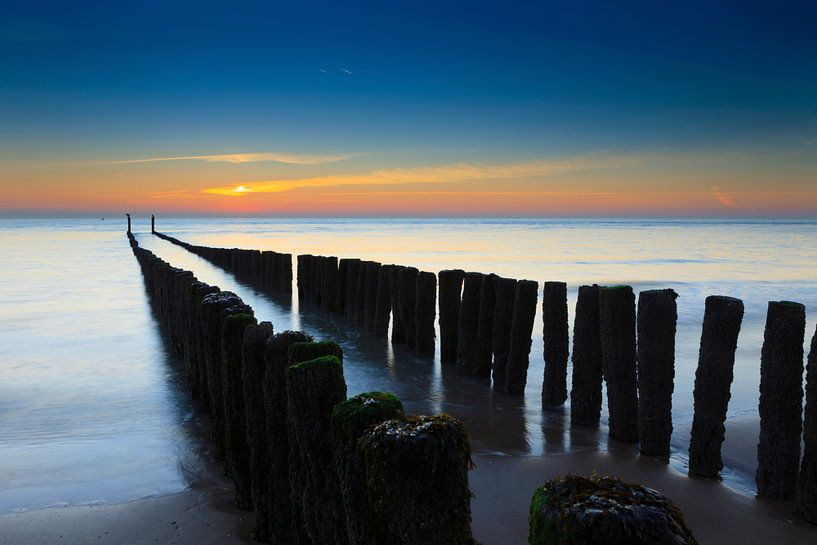 zeeuwse zonsondergang van gaps photography