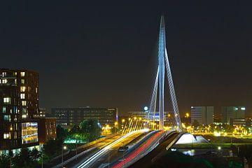 Rivier van licht in Utrecht van