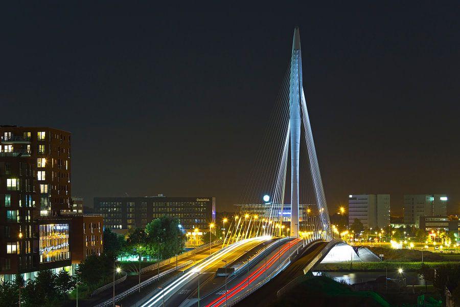 Rivier van licht in Utrecht
