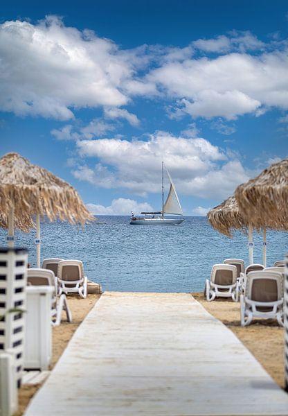 Kos eiland in Griekenland van Costas Ganasos