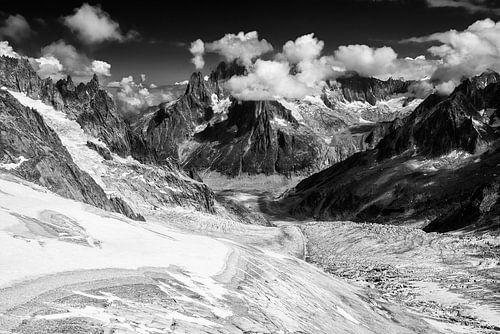 Glacier du Géant van Martin de Bock