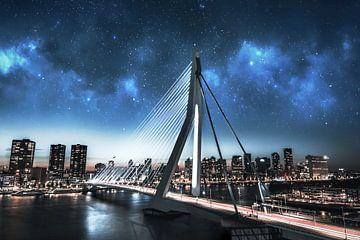 Rotterdam galaxy Erasmusbrug van vedar cvetanovic