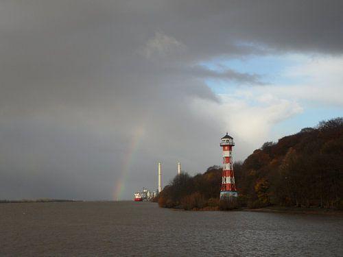 Leuchtturm Wittenbergen van
