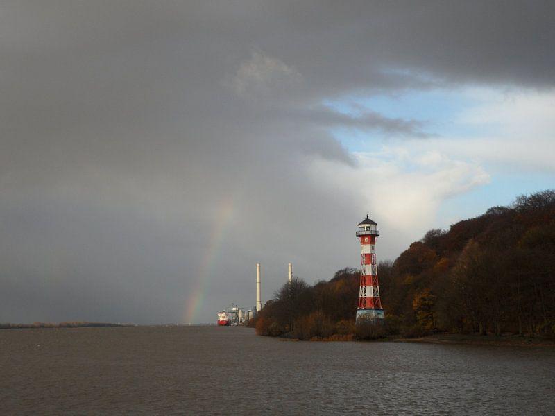 Leuchtturm Wittenbergen van Peter Norden