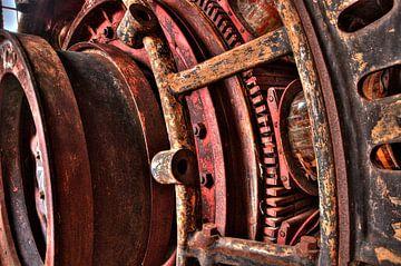 industrial red van jana Wuyts
