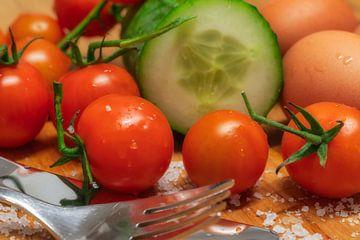 Gurken-Tomaten-Eier van