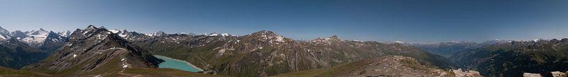 Panorama Schweizer Alpen von Manuel Declerck
