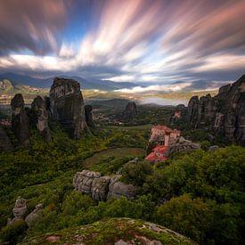 Meteora, Kalampaka, Griekenland van Konstantinos Lagos