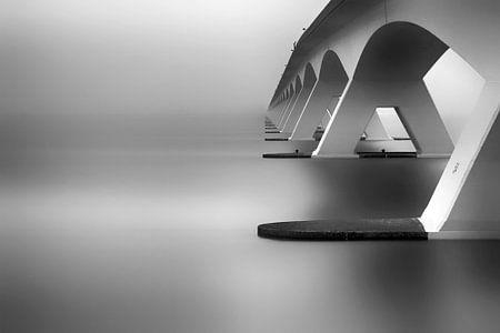 Le pont de Zélande sur Kees Smans