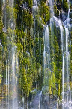 Mossbrae-Wasserfall, Kalifornien, USA