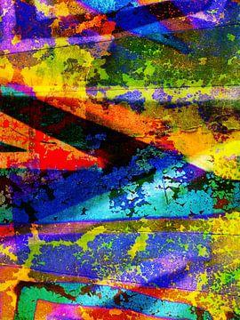 Modern, Abstract kunstwerk - The Place That Feels Your Tears (deel 1) van Art By Dominic
