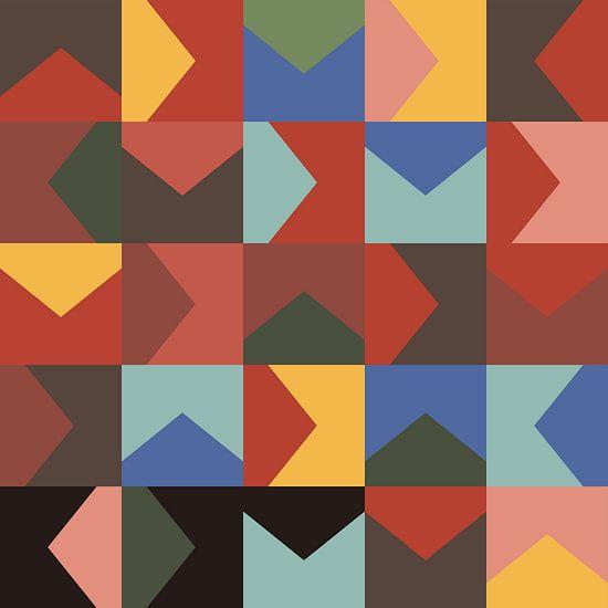 Composition abstraite 568 van Angel Estevez