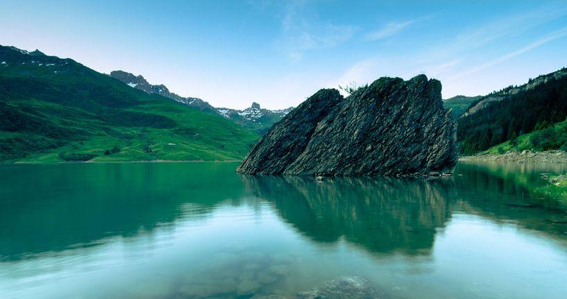 Lac de Roselend 2 van Desh amer