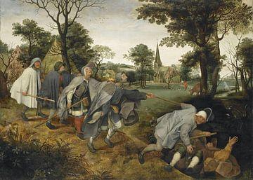 L'aveugle menant l'aveugle, vers 1568 Pieter Bruegel l'Ancien sur